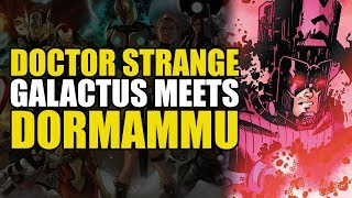 Galactus Meets Dormammu! (Doctor Strange: Herald Supreme Part 1)