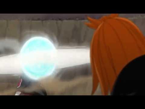 Naruto Vs Pain Fuuton Rasen Shuriken