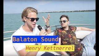 A Balaton Sound prémium arca Henry Kettnerrel