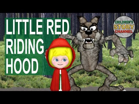 Little Red Riding Hood - Animated Fairy Tales for Children