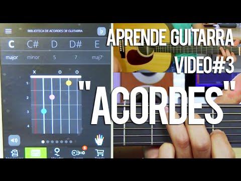 Los 24 acordes para tocar cualquier canción - Aprende Guitarra Video#3