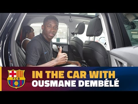 Dembélé's Chat In The Car On His Way To The Camp Nou!