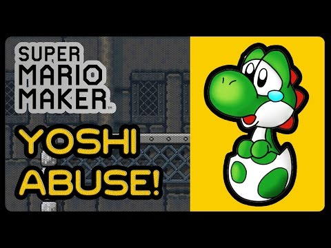 Super Mario Maker - YOSHI ABUSE!