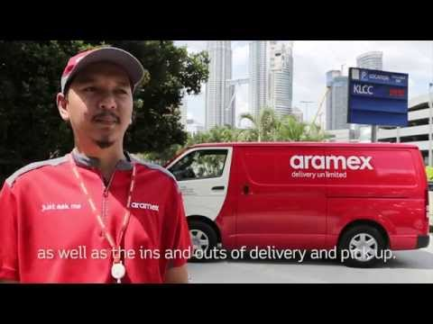 Aramex Courier Day 2014