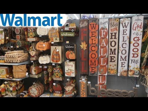 "WALMART ""FALL 2019 HOME DECOR"" COME WITH ME!!!"