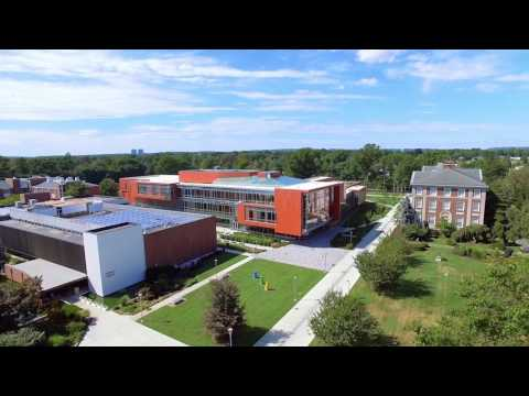 Adelphi University: A Drone's-Eye View