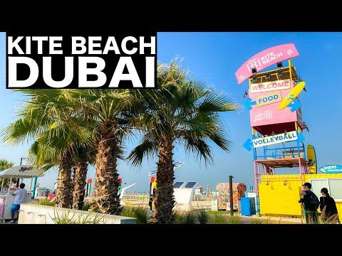 Kite Beach Dubai Complete Walk | Dubai Tourist Attraction