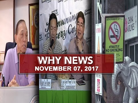 UNTV: Why News (November 07, 2017)