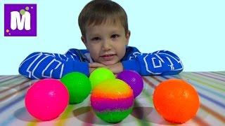 Мэд леб попрыгунчики набор делать мячики самим Mad Lab ball unboxing set