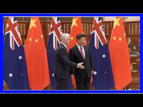China scolds australia over its fears of foreign influence