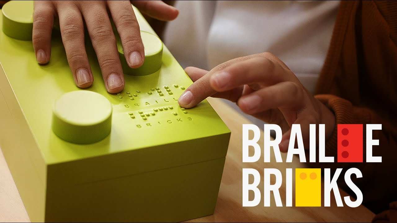 how to make braille signs