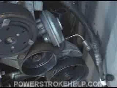 AC BASICS 5 OF 6 FORD POWERSTROKE DIESEL TRUCK - YouTube