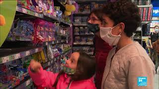 French race to buy children's toys amid fears of pre-Christmas lockdown