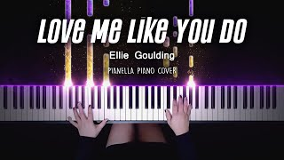 Ellie Goulding - Love Me Like You Do | Piano Cover by Pianella Piano