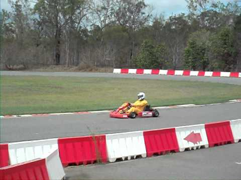 Mareeba Makotrac go karting in PW300 4 stroke single rotor rotary engine 3 star licence