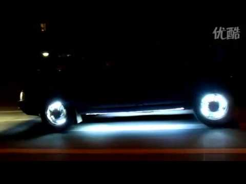 Cool Car Wheel Led LightsRim Lights Effect Show YouTube - Led car show lights