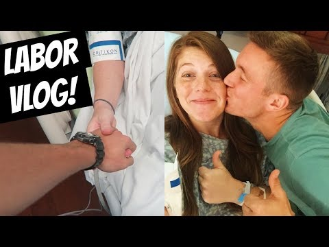 Labor Vlog--Here Comes Our Newborn Baby!!