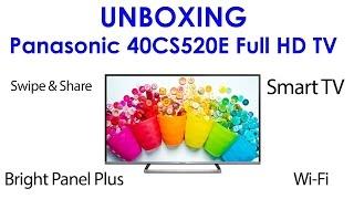 01. Panasonic 40CS520E unboxing