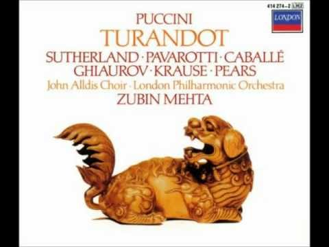 Turandot 19: Act 3 Così comanda Turandot!