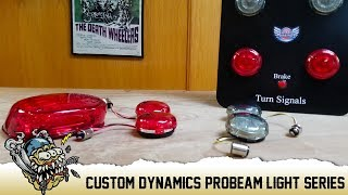 Custom Dynamics - Harley ProBeam LED Tail Lights & Turn Signals -  DeadbeatCustoms com by Deadbeat Customs