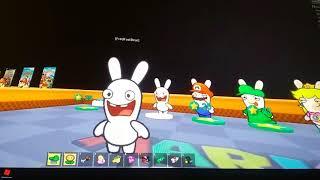 Roblox papel Mario RP (Mario + Rabbids Reino atualização batalha)
