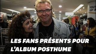 Les fans de Johnny Hallyday n'ont pas attendu pour acheter l'album posthume