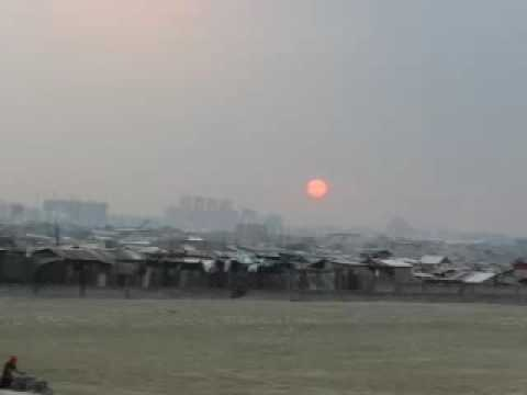 Blood Red Sun in the midst of darkSky appeared 1stTime in Philippines