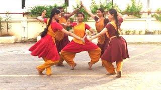 Sridevi Nrithyalaya - Bharathanatyam Dance - A clip from the Keerthanam - Mahakali