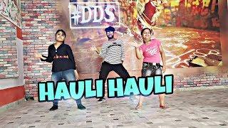 HAULI HAULI - BEST DANCE CHOREOGRAPHY | DESI DANCE STUDIO | CHOREOGRAPH BY Manik mK || HIT SONG 2019