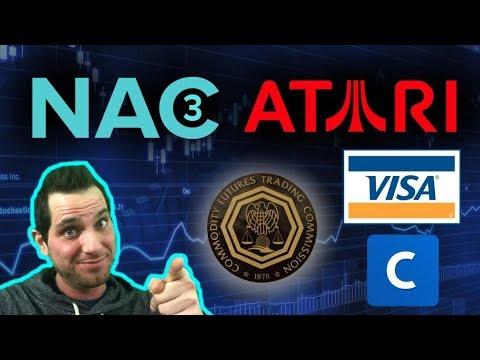 ATARI Crypto? CFTC Pump And Dump Scams | VISA | Coinbase Refunds | NAC3