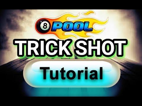 8 ball pool - Trick shot tutorial - How to bank shot bang shot - Middle / centre pocket awesome shot