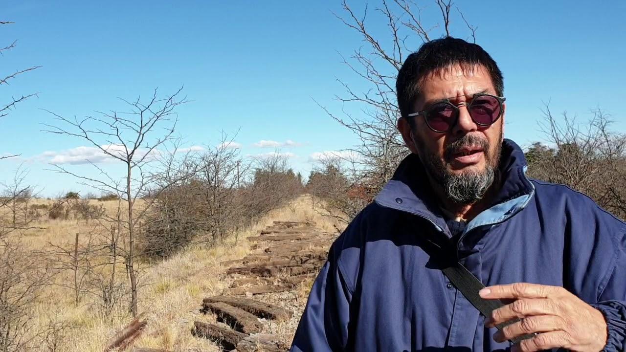 Se robaron las vías del tren en Santa Cecilia