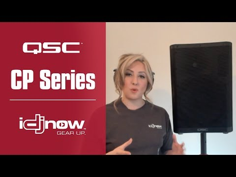 QSC CP12 & CP8 Powered Speaker Review & Demo With DJ Rachel   Are CP Series Speakers Right For You?