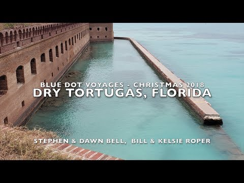 Sailing to Dry Tortugas Fort/Prison