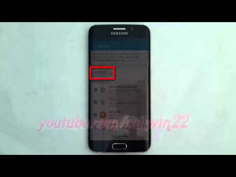Android Lollipop : How to Restore Messages (Multimedia, text, spam filter, etc) on Samsung Galaxy S6