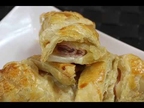 Doughnut Shop Ham and Cheese Croissant - How to Make Ham and Cheese Croissant