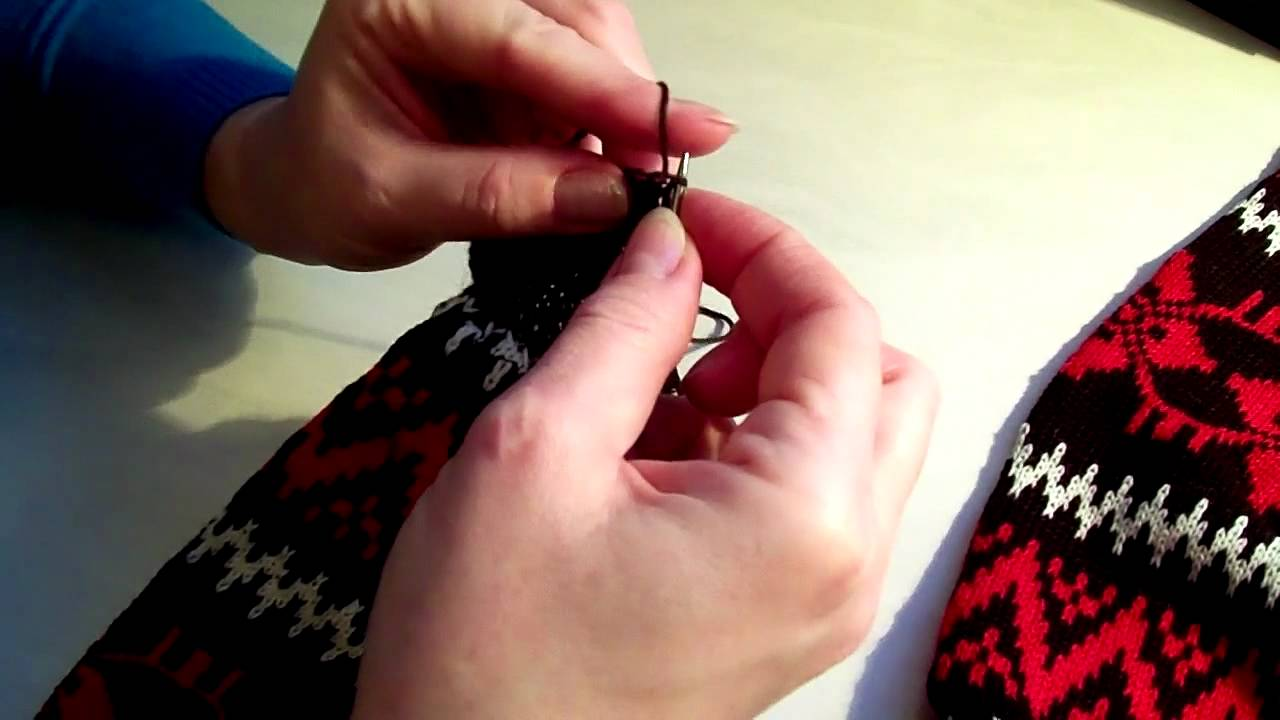 как отремонтировать вязаные носки How To Repair Knitted Socks Youtube