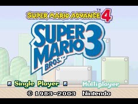 Game Boy Advance Longplay [013] Super Mario Bros 3.: Super Mario Advance 4