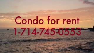 Condo for rent, Big Island, Kona, Hawaii 2b/2b.