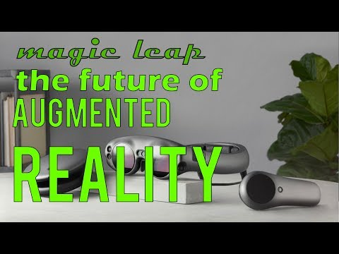 Magic Leap Unveils Mixed-Reality Goggles | Future of Augmented Reality