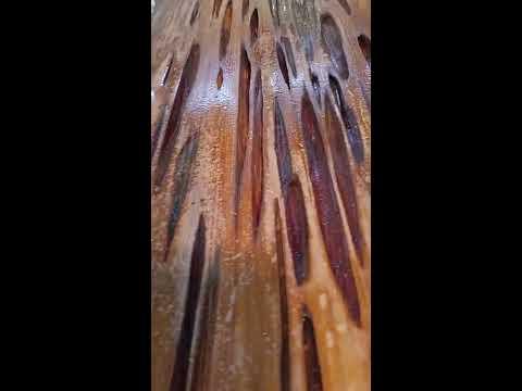 MGP - Pecky Cypress Epoxy First Pour Problem