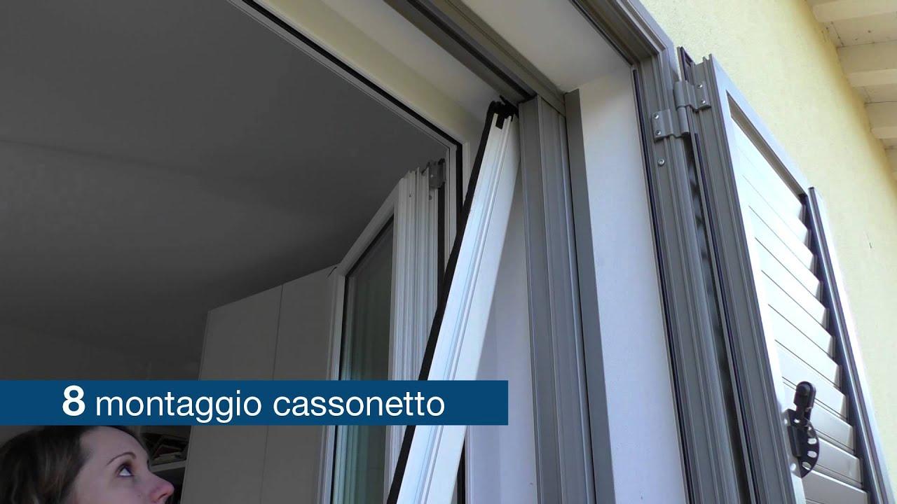 Roto zanzariera avvolgibile orizzontale youtube - Tipi di zanzariere per porte finestre ...