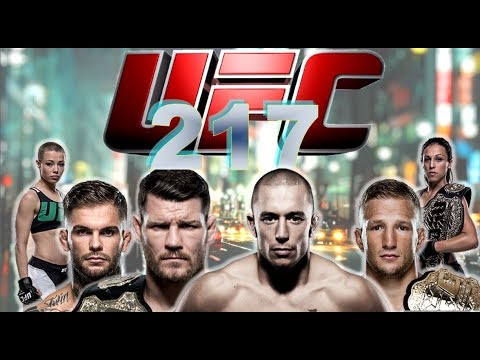💢 UFC 217 | MAIN CARD |  LIVE FIGHT REACTION AND CHATROOM NONSENSE!