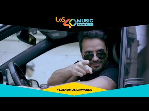 'Despacito' es Golden Music Award 2017 | LOS40 Music Awards 2017