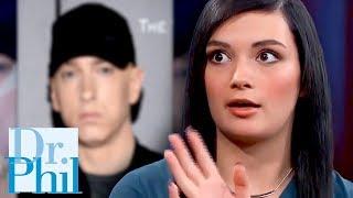Crazy Girl Thinks Eminem Is Her Dad