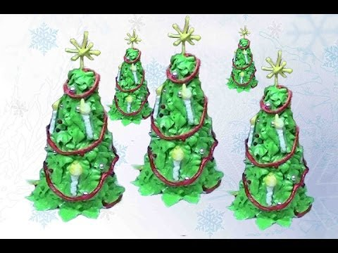 Edible Christmas Tree Ornament With Royal Icing Cake Decorating