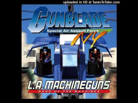 Gunblade NY - 02 - TIMES SQUARE ~ Boss 01 ~ STAGE CLEAR