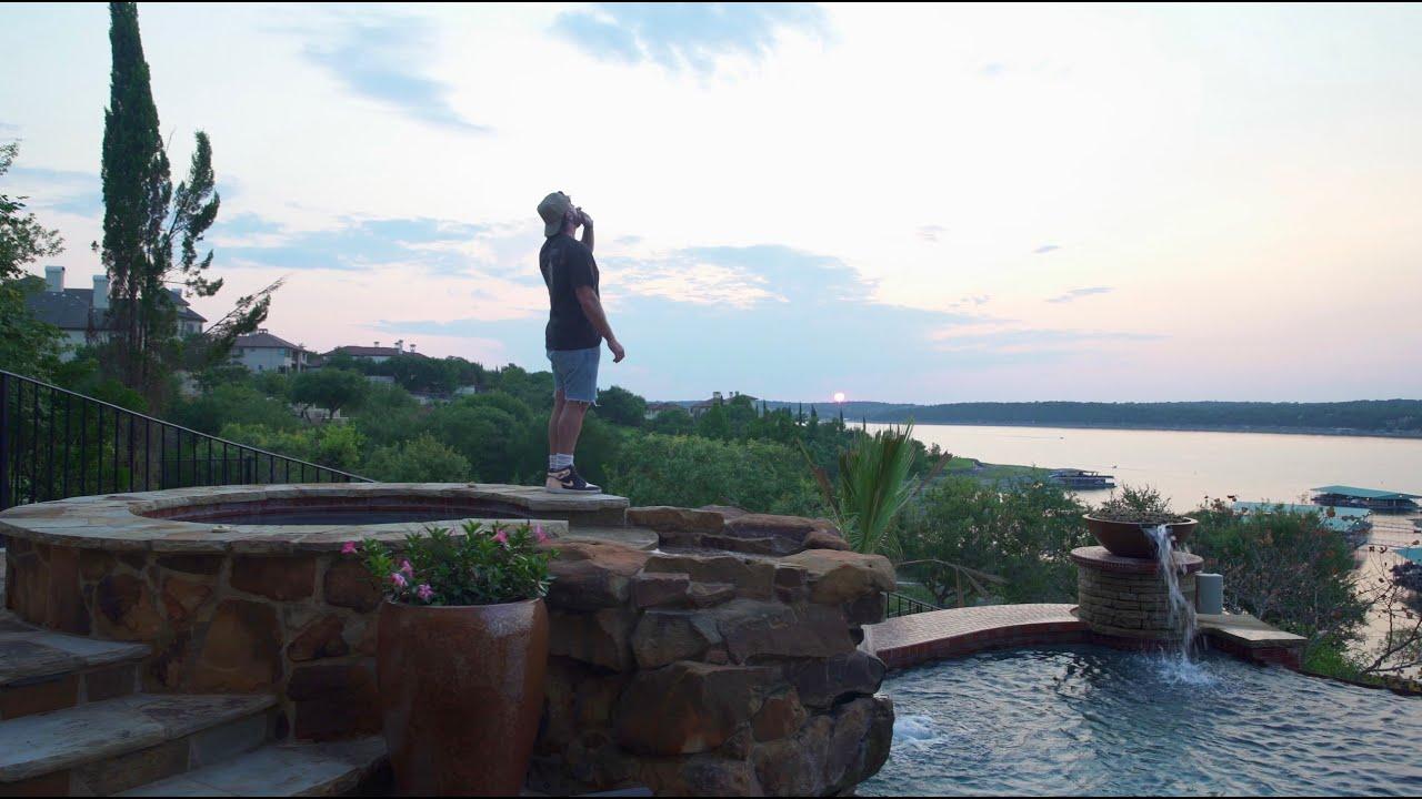 mike. - blue water (lyric video)