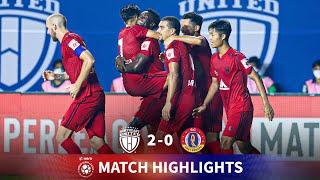 Highlights - NorthEast United FC FC 2-0 SC East Bengal - Match 17 | Hero ISL 2020-21