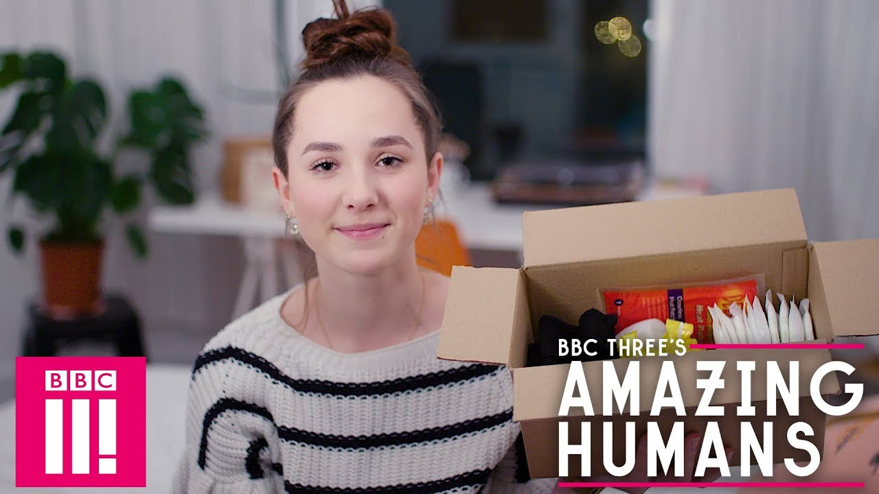 The 16 Year Old Tackling Period Poverty: Amazing Humans